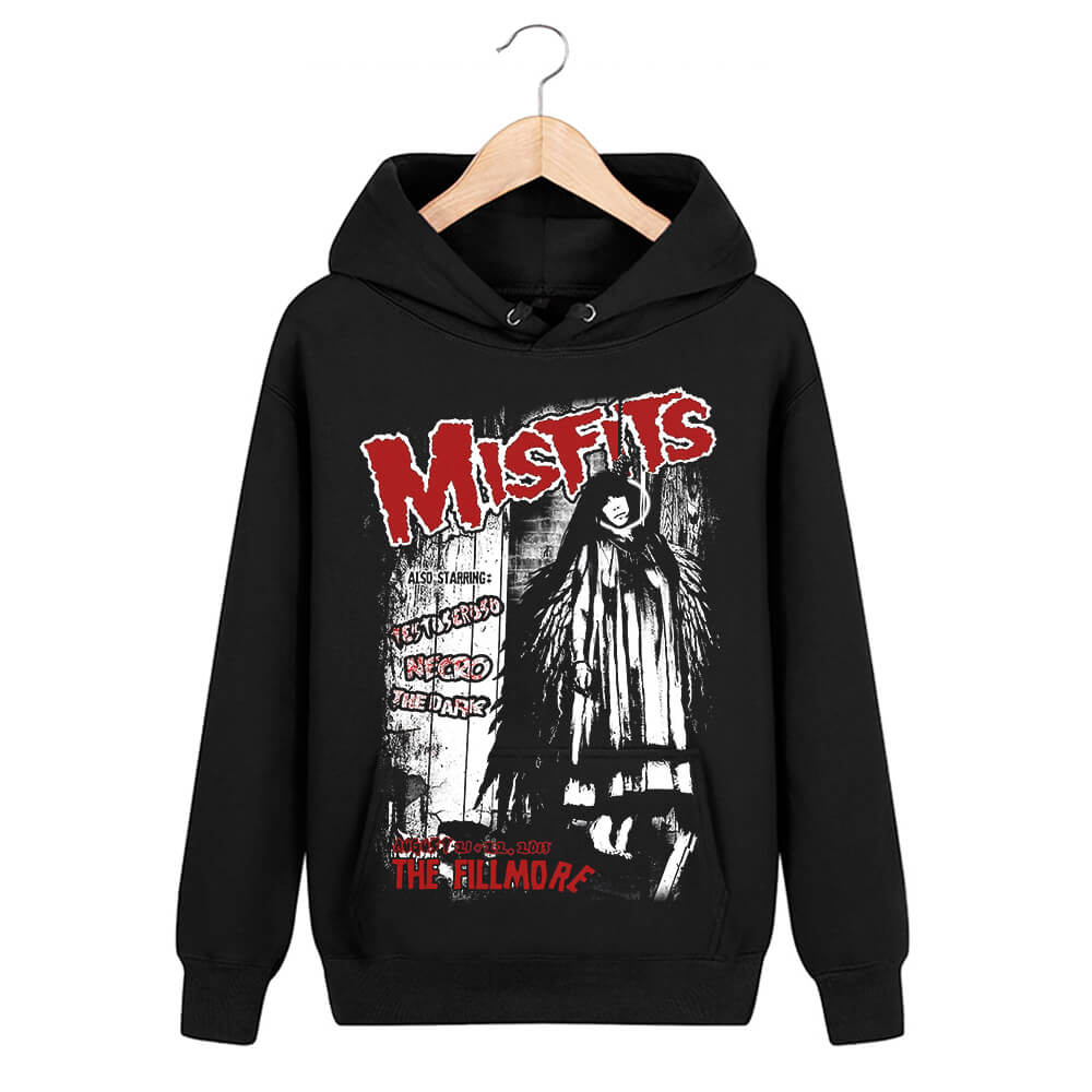 Misfits Hooded Sweatshirts Hard Rock Punk Hoodie