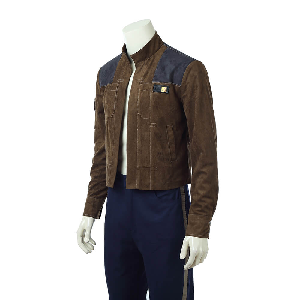 Movie Han Solo Jacket Star Wars Story Cosplay