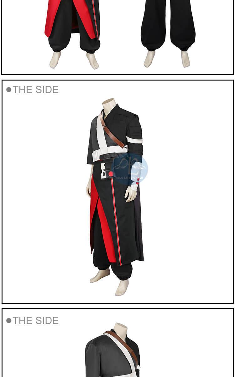 Movie Rogue One Star Wars Story Chirrut Imwe Cosplay Costume
