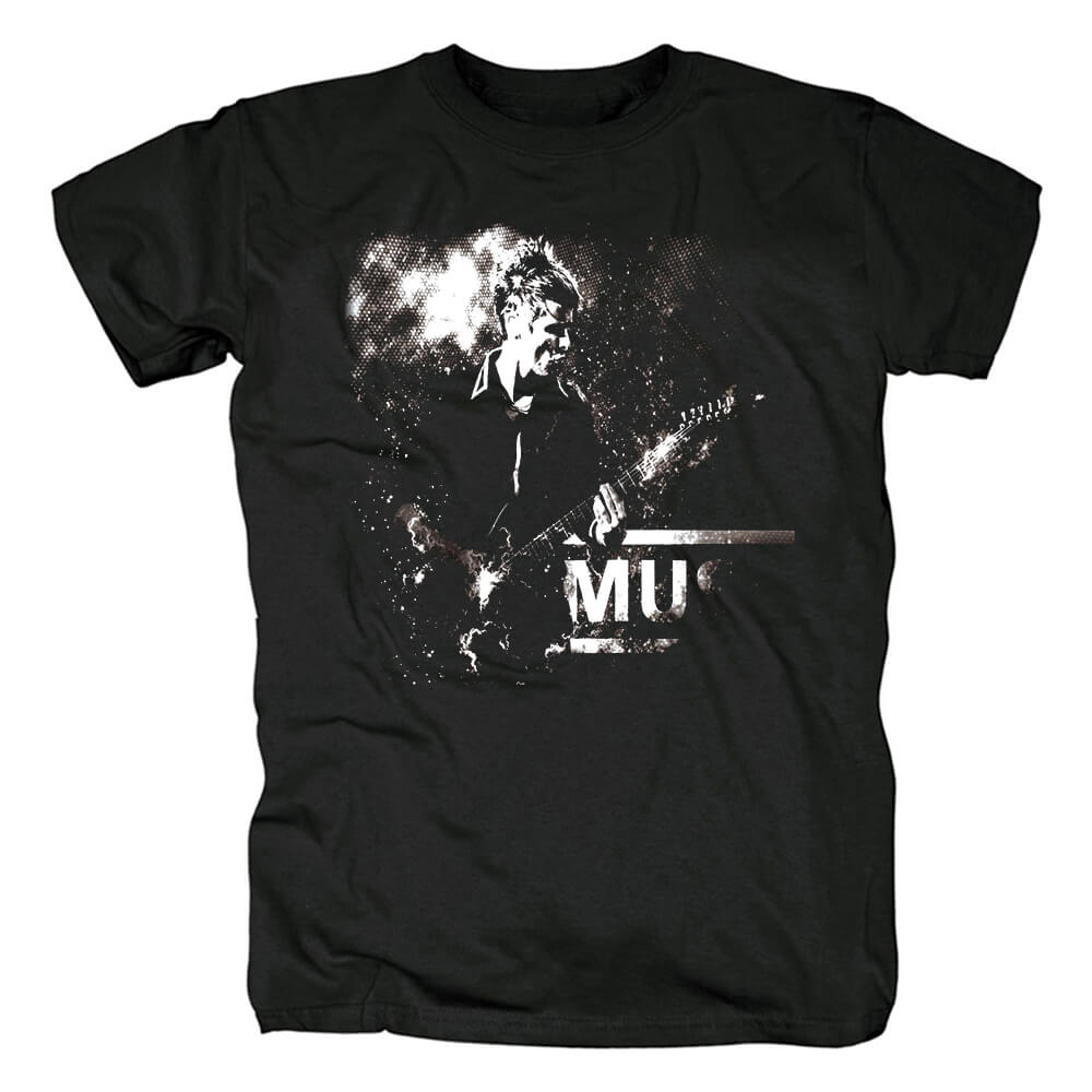 Muse Band Brit-Pop Tees Uk Metal Rock T-Shirt