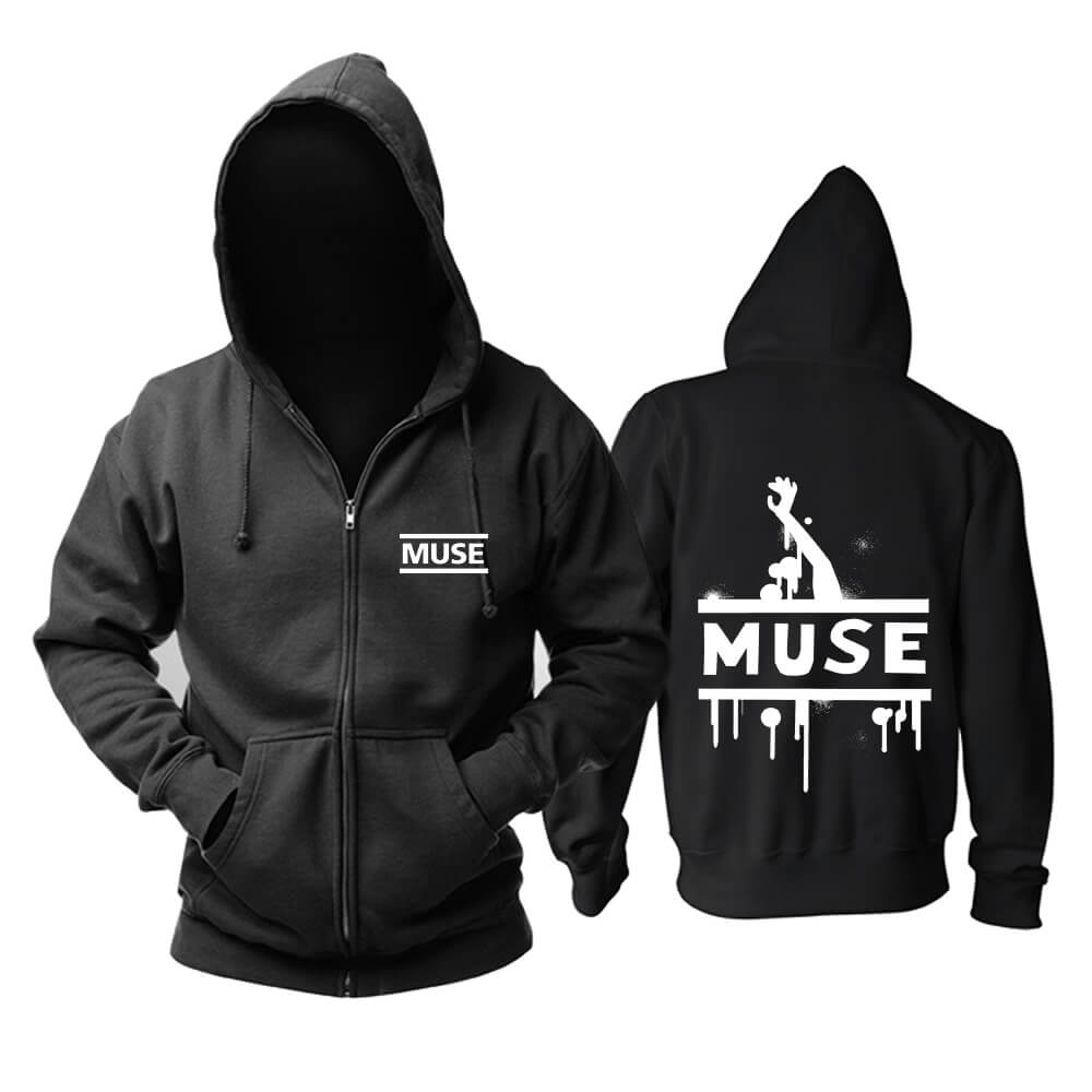 Muse Brit-Pop Hoodie Uk Metal Rock Band Sweatshirts
