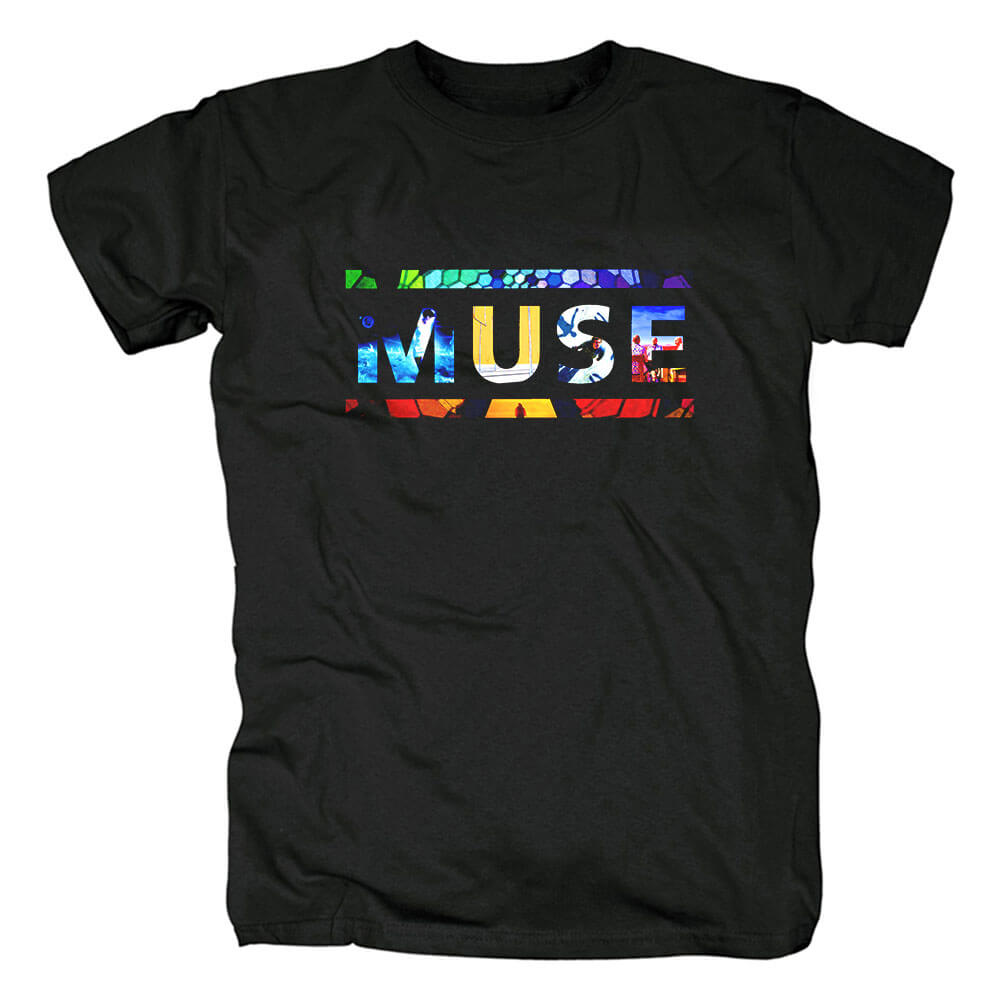 Muse Neo-Progressive Tee Shirts Uk Metal Rock Band T-Shirt