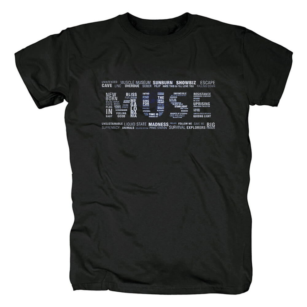 Muse Tshirts Uk Metal Rock T-Shirt