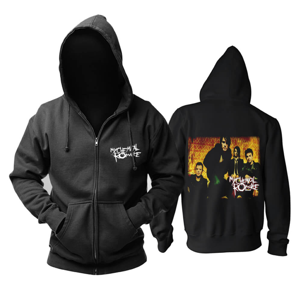 My Chemical Romance Hooded Sweatshirts Us Hard Rock Punk Rock Band Hoodie
