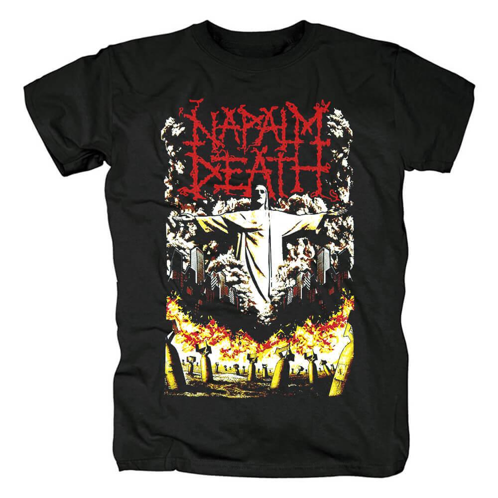 Napalm Death Band Tees Uk Metal T-Shirt
