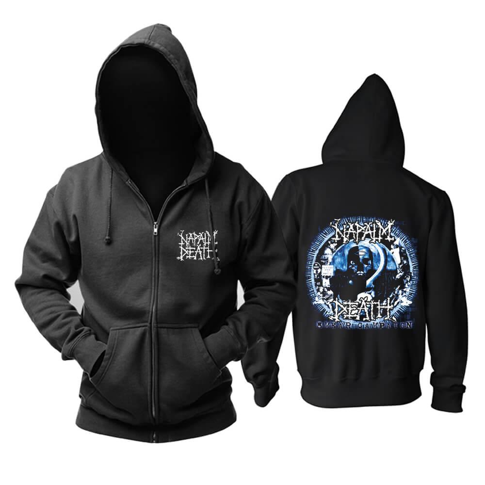 Napalm Death Hooded Sweatshirts Uk Metal Music Hoodie