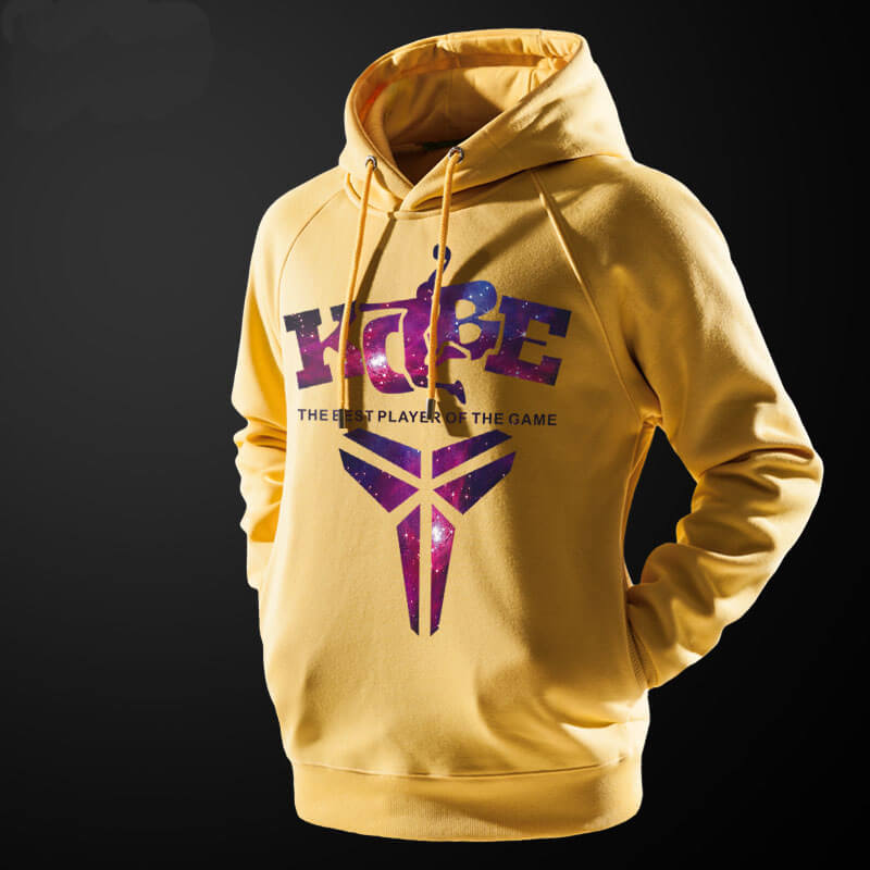 "NBA Kobe Hoodie ""The best player of the game"" Pollover Sweatshirt"