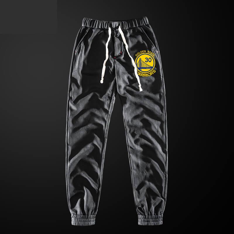 NBA Stephen Curry Sweatpants Men Grey Pencil Pants
