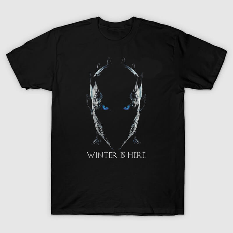 The Night King Tshirt Winter is Here Tee