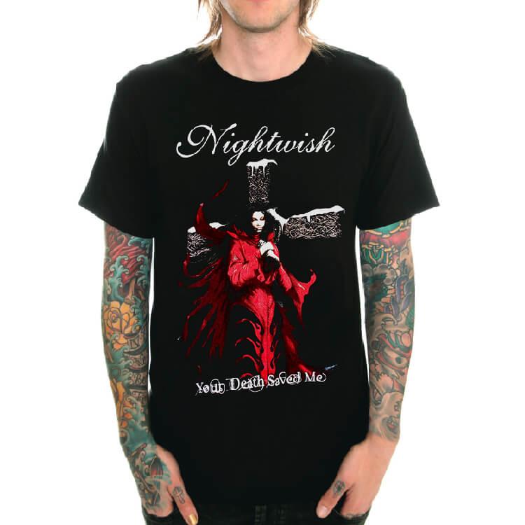 Tričko Nightwish Black Metal pánské tričko Cool  bc6f5456e7