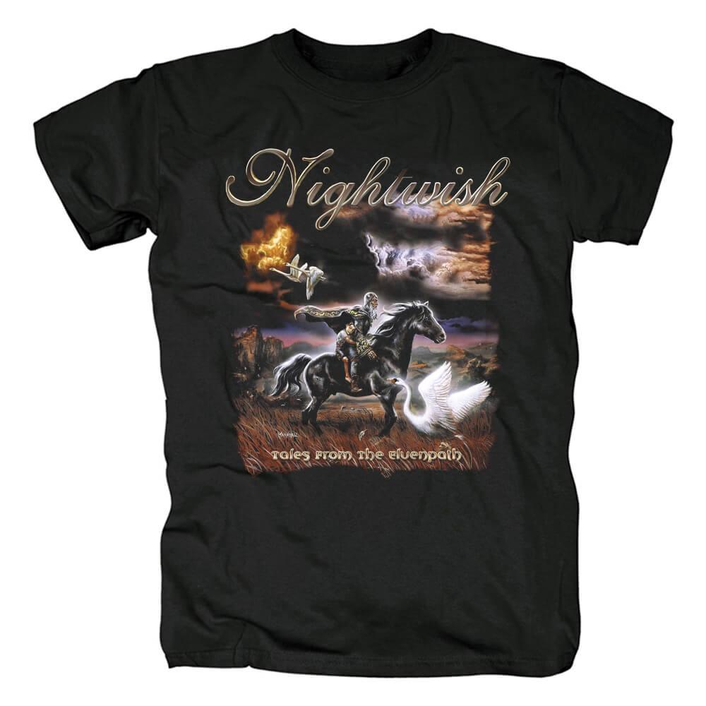 Nightwish Tales From The Elvenpath T-Shirt Finland Metal Shirts