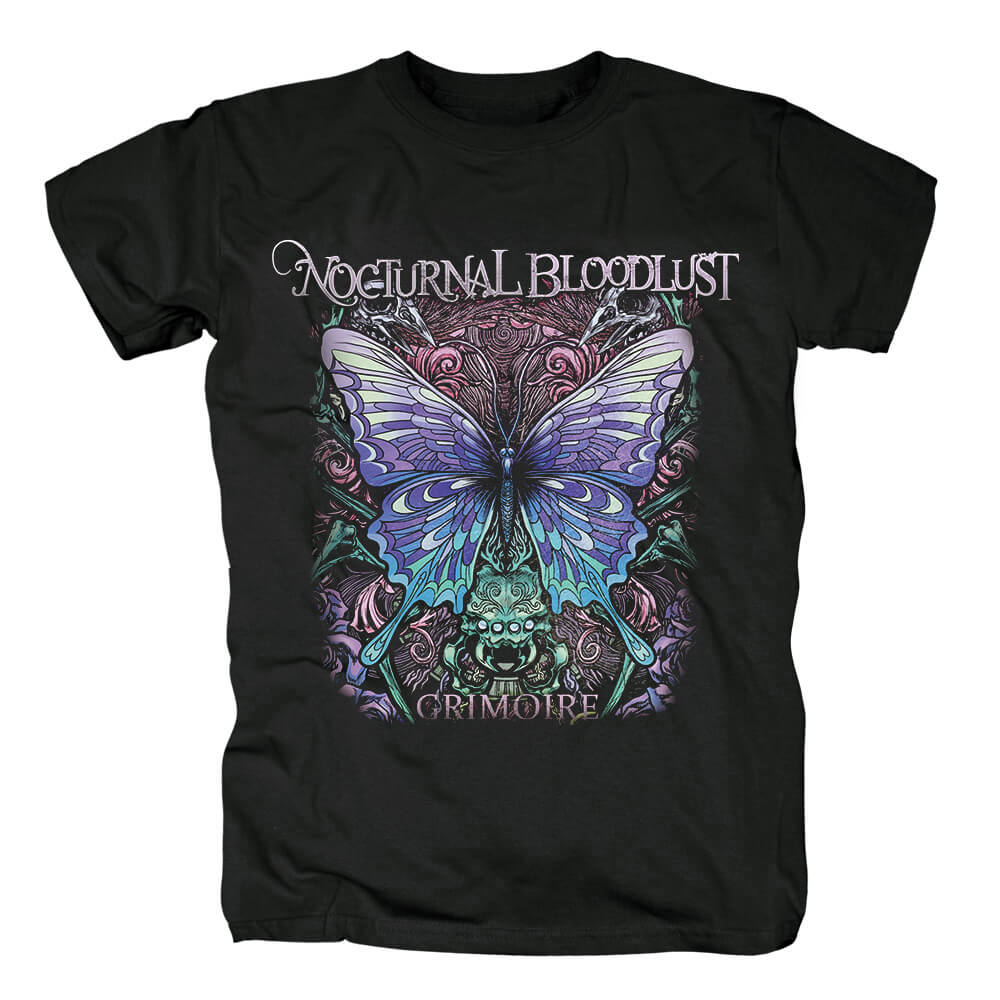 Nocturnal Bloodlust Grimoire Tee Shirts Japan Metal T-Shirt