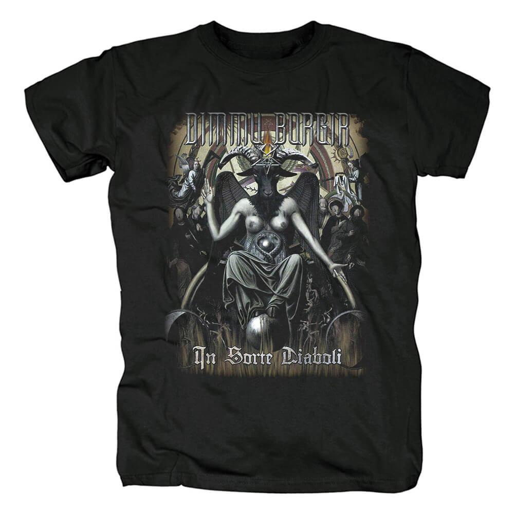 Norway Black Metal Punk Graphic Tees Quality Dimmu Borgir T-Shirt