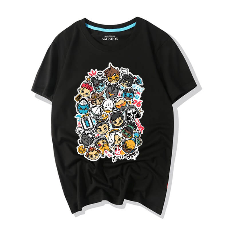 <p>Overwatch Cartoon All Character T-Shirt</p>