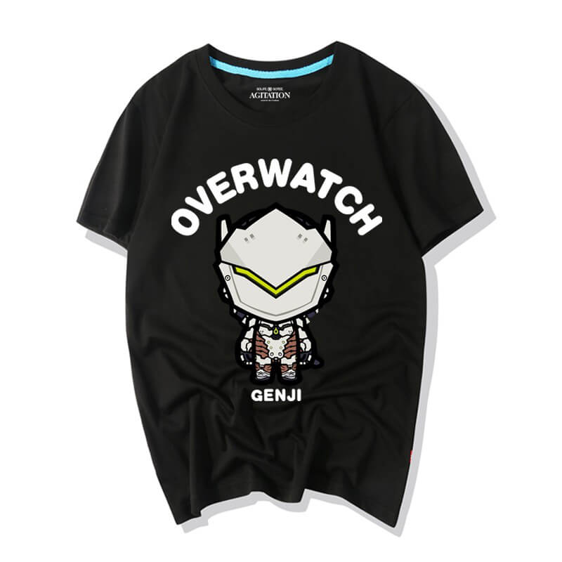 Overwatch Characters Cartoon Genji T-Shirt