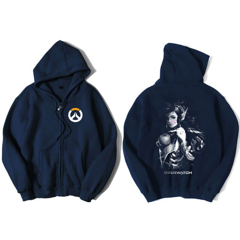 Overwatch D.Va Hoody For Men Blue Hoodie