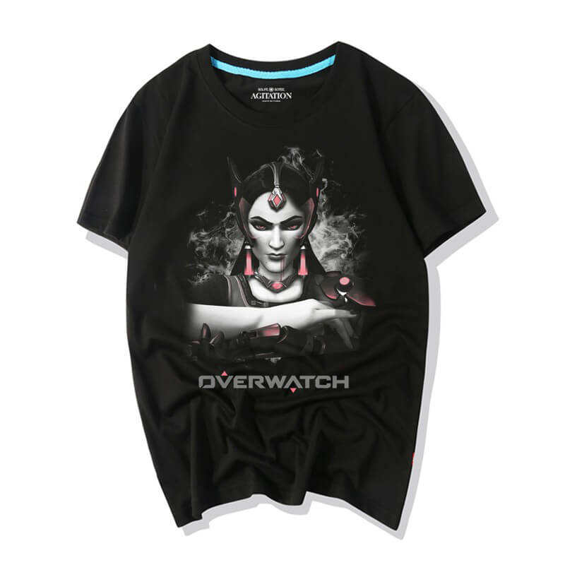 Overwatch Game Tee Symmetra Shirts