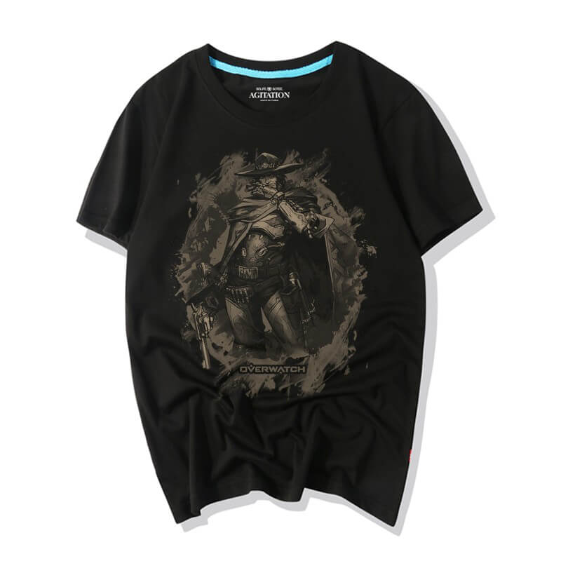 Overwatch Tee Shirt Mccree Shirts