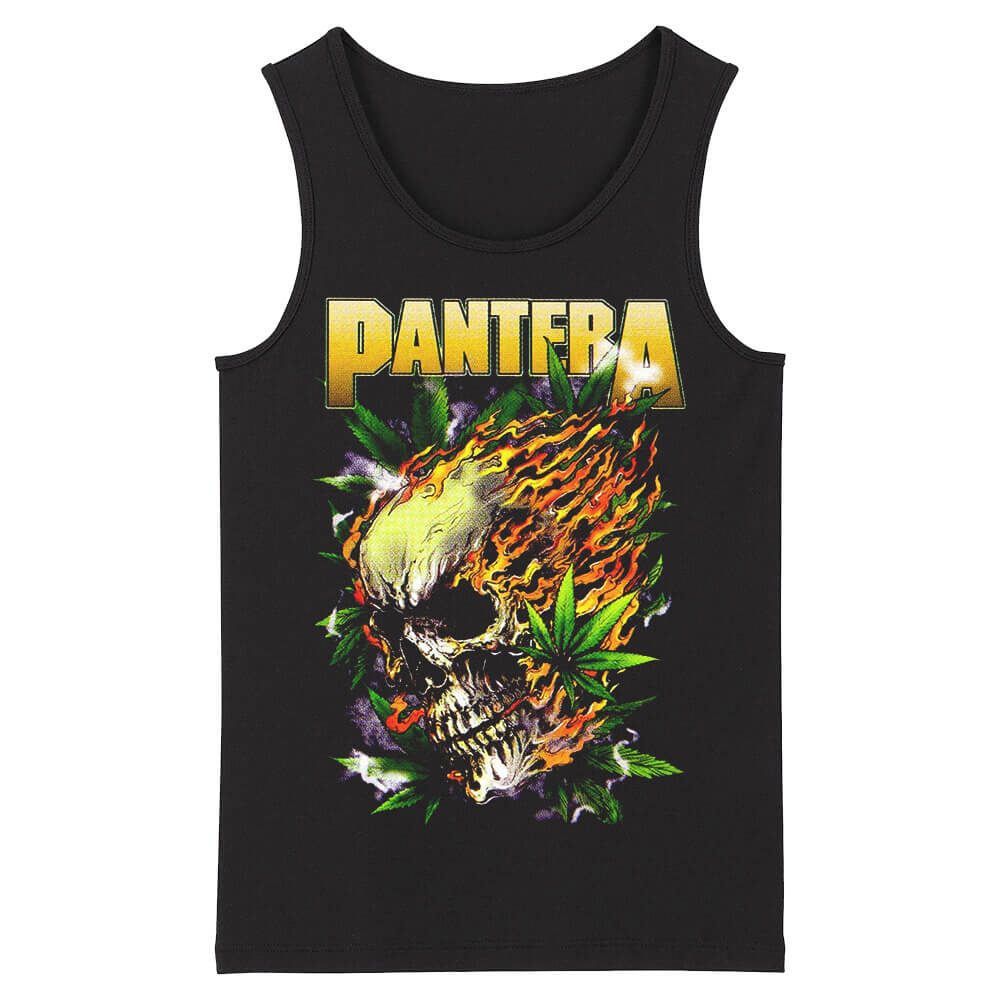 Pantera Tank Tops Us Metal Rock Sleeveless Tshirts