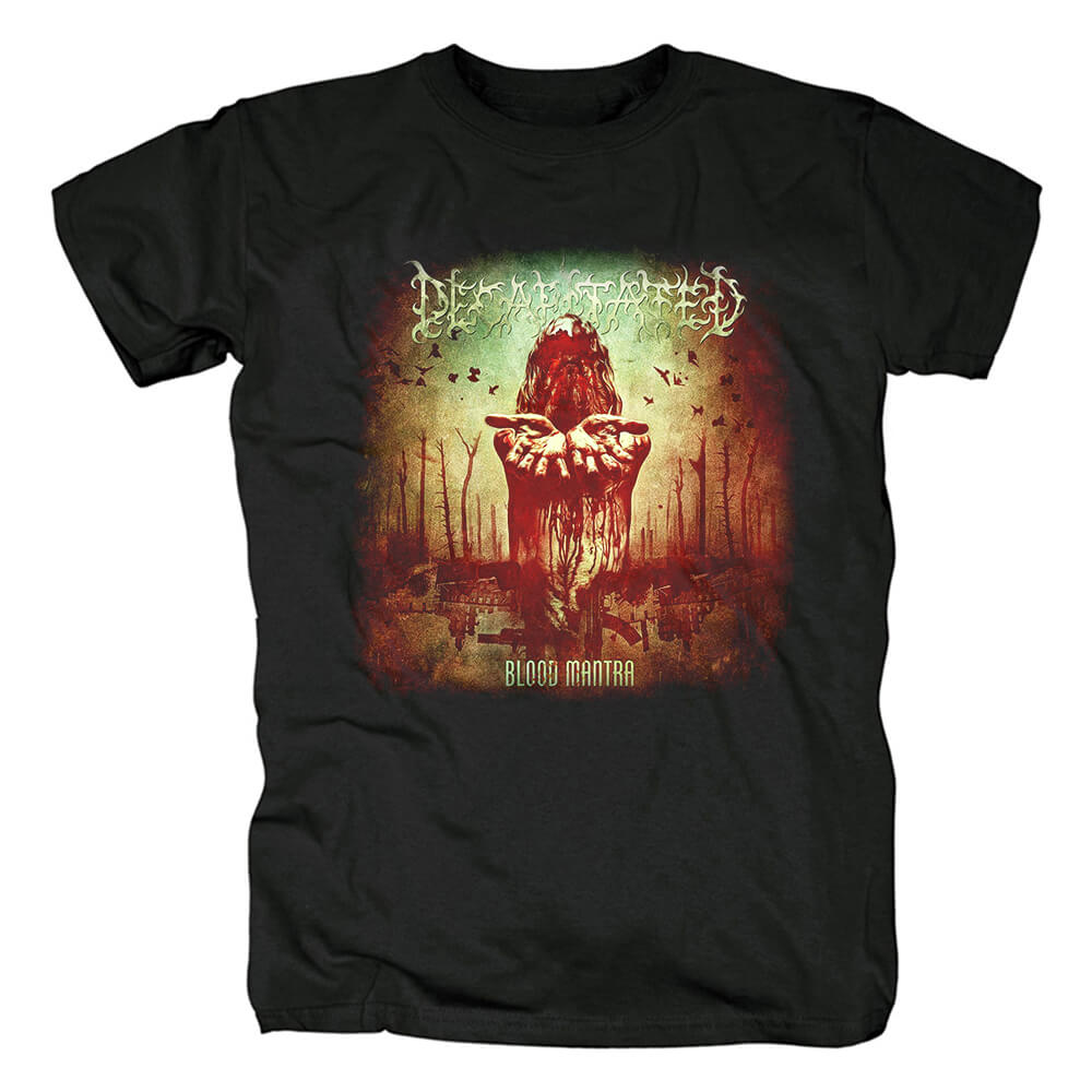 Personalised Decapitated Blood Mantra Tshirts Poland Metal T-Shirt