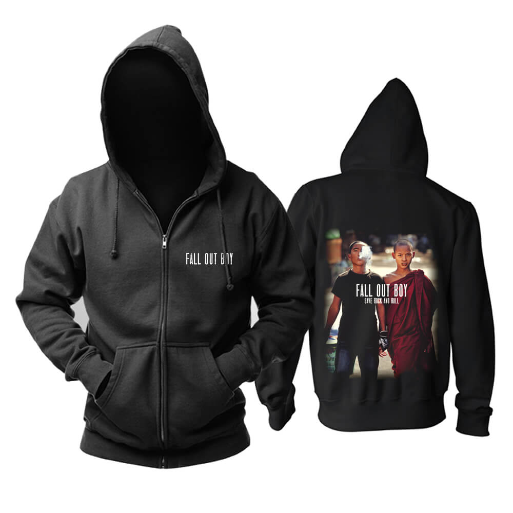 Personalised Fall Out Boy Hoody Chicago, Usa Hard Rock Metal Punk Rock Band Hoodie