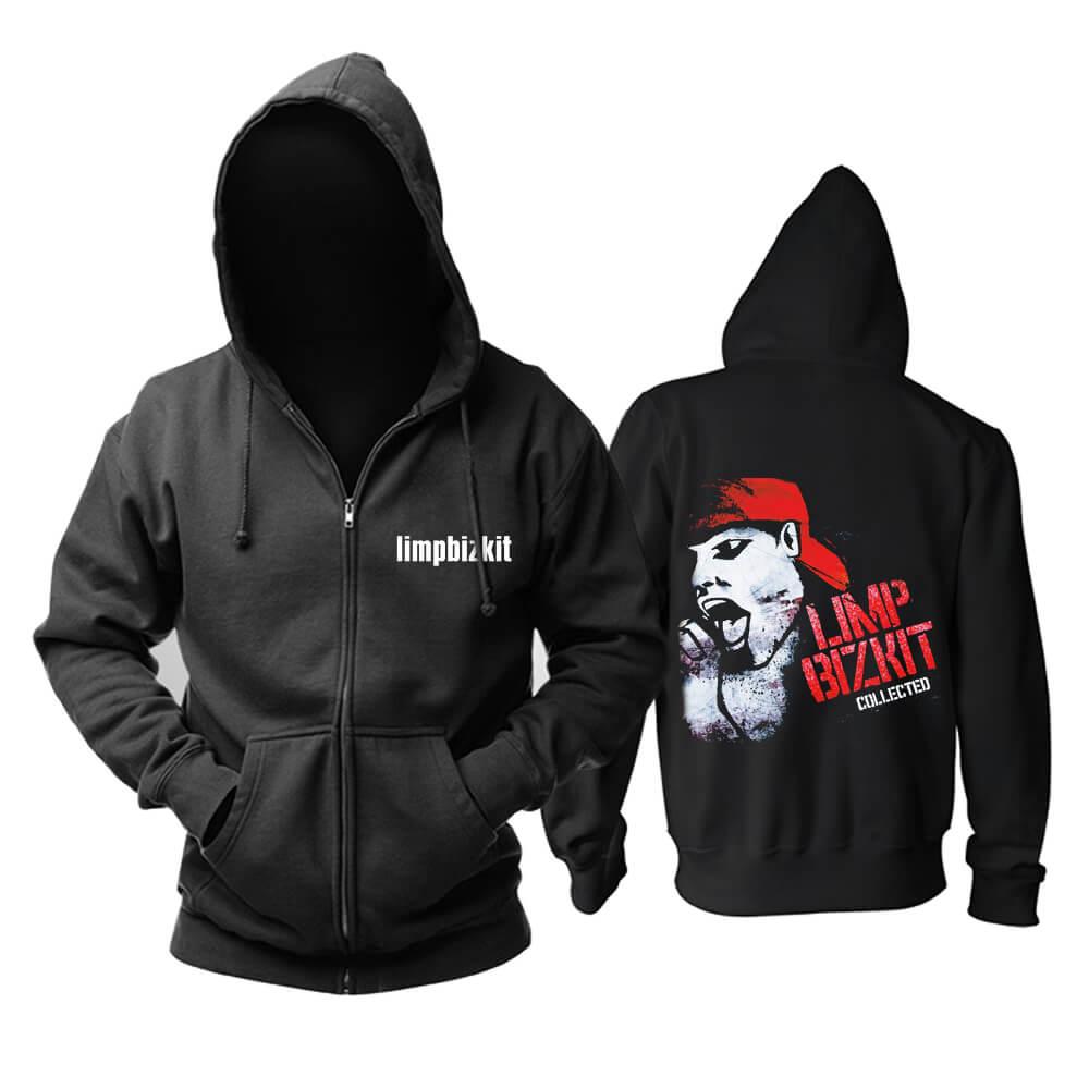 Personalised Limp Bizkit Gold Cobra Hooded Sweatshirts Us Rock Band Hoodie