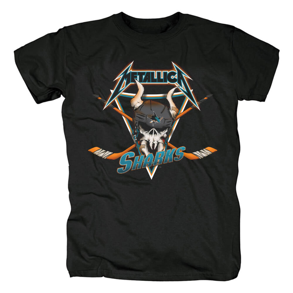 Personalised Metallica Band T-Shirt Us Metal Rock Tshirts