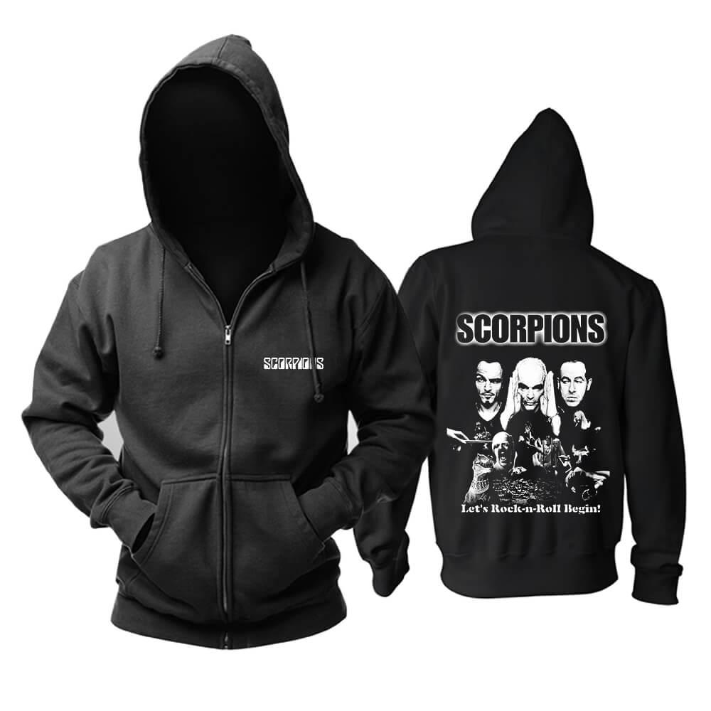 Personalised Scorpions Hoody Germany Metal Rock Band Hoodie
