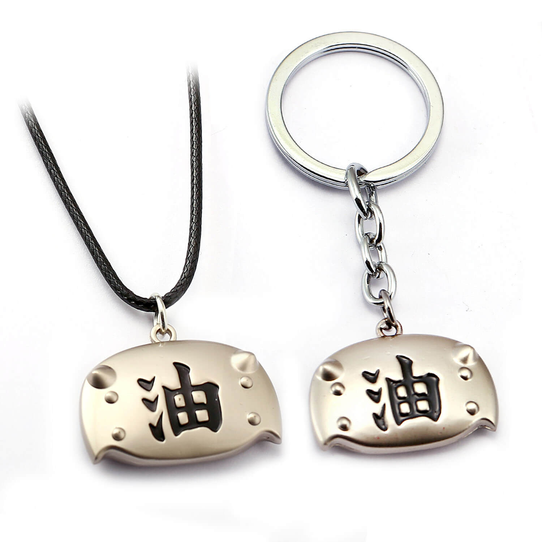 Personalized Jiraiya Keychain Naruto Key Rings