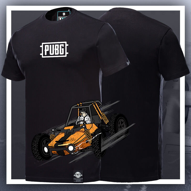 Playerunknown'S Battlegrounds T-shirt pubg Black Tee Shirt