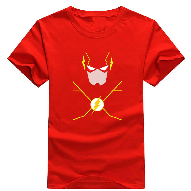 6f082a7a074 ... Plus Size The Flash T Shirt Couple Tees Summer