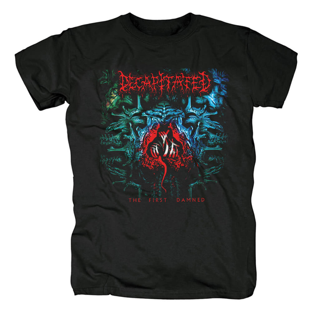 Poland Metal Tees Cool Decapitated The First Damned T-Shirt