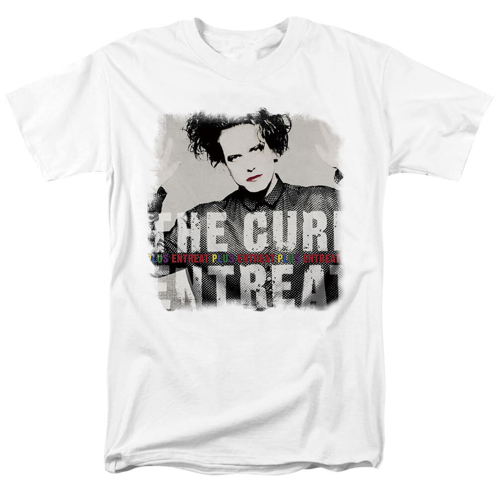 Punk Rock Graphic Tees Quality The Cure-Entreat Plus T-Shirt