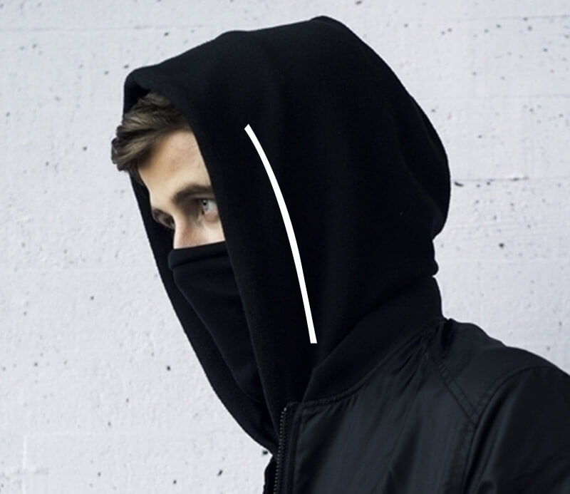 Quality Alan Walker Faded Hoodie DJ Zip Up Hooded Sweatshirt