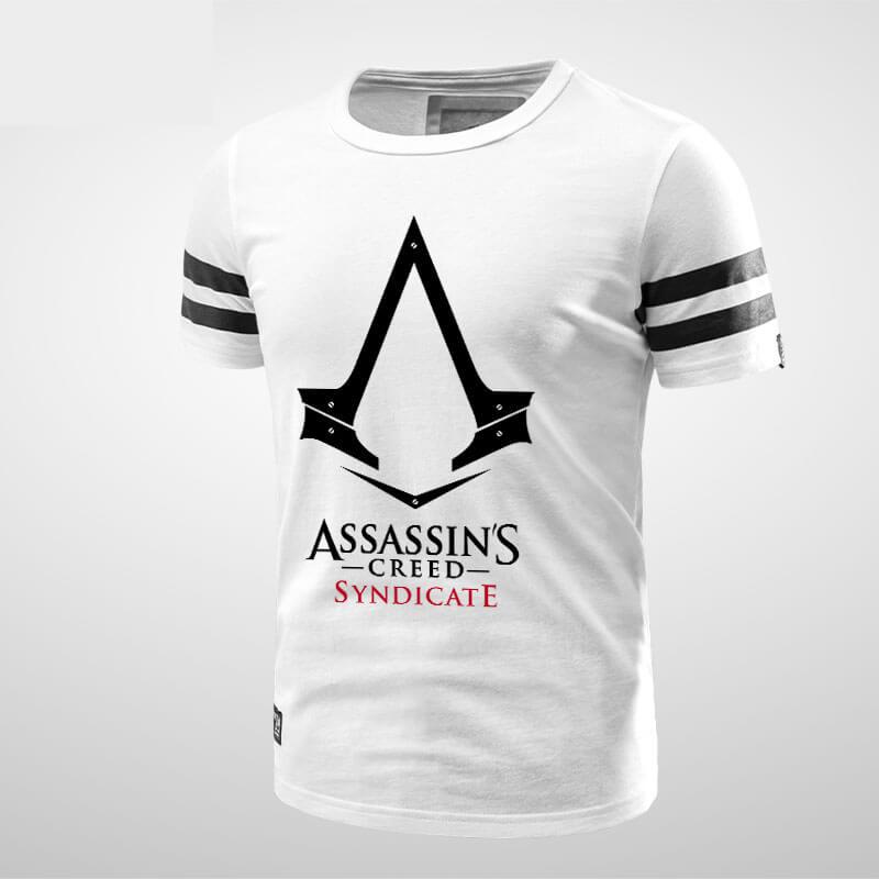 4a586df6ee0 ... Tričko značky Quality Assassin je Creed Origins Logo