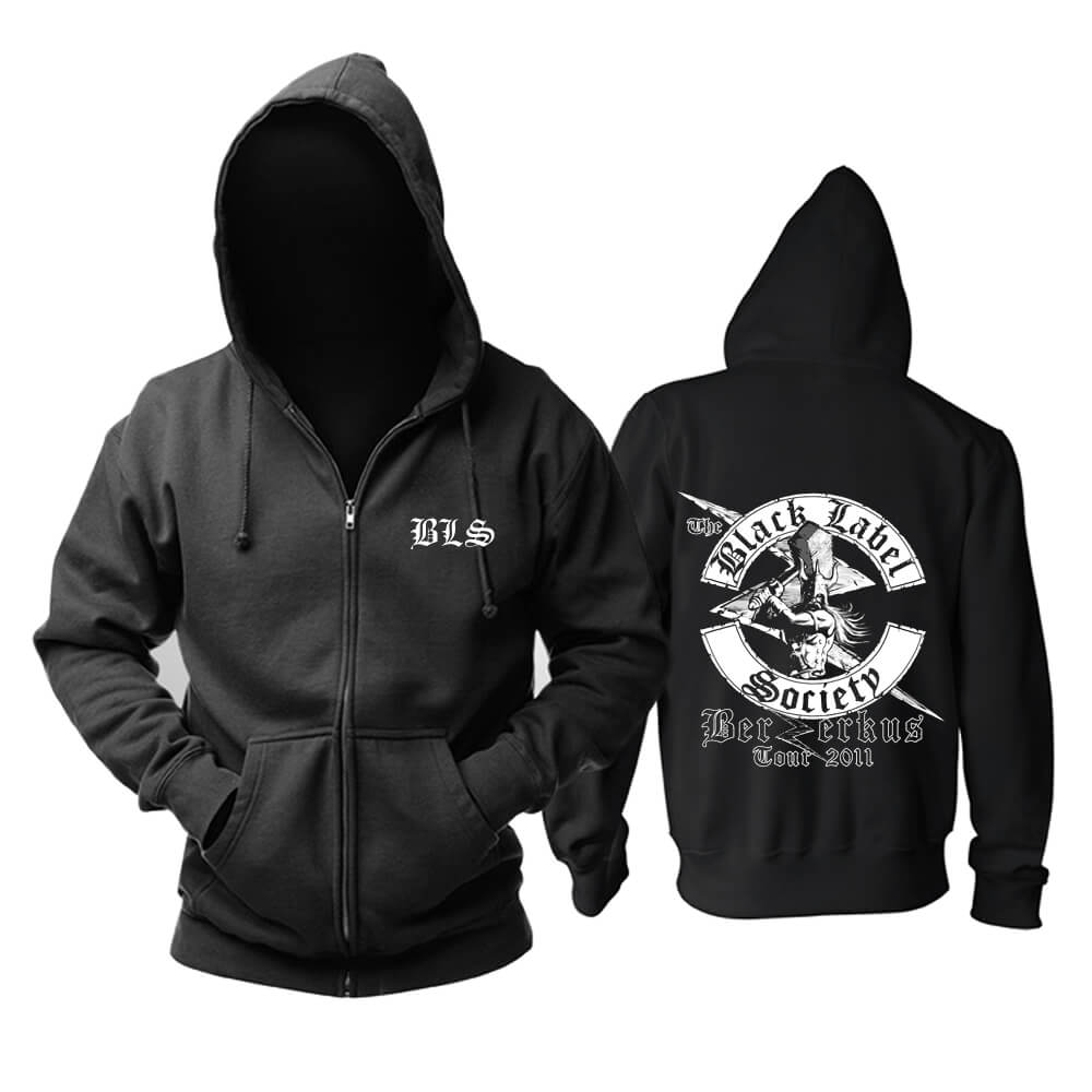 Quality Black Label Society Hoodie Metal Punk Rock Sweatshirts