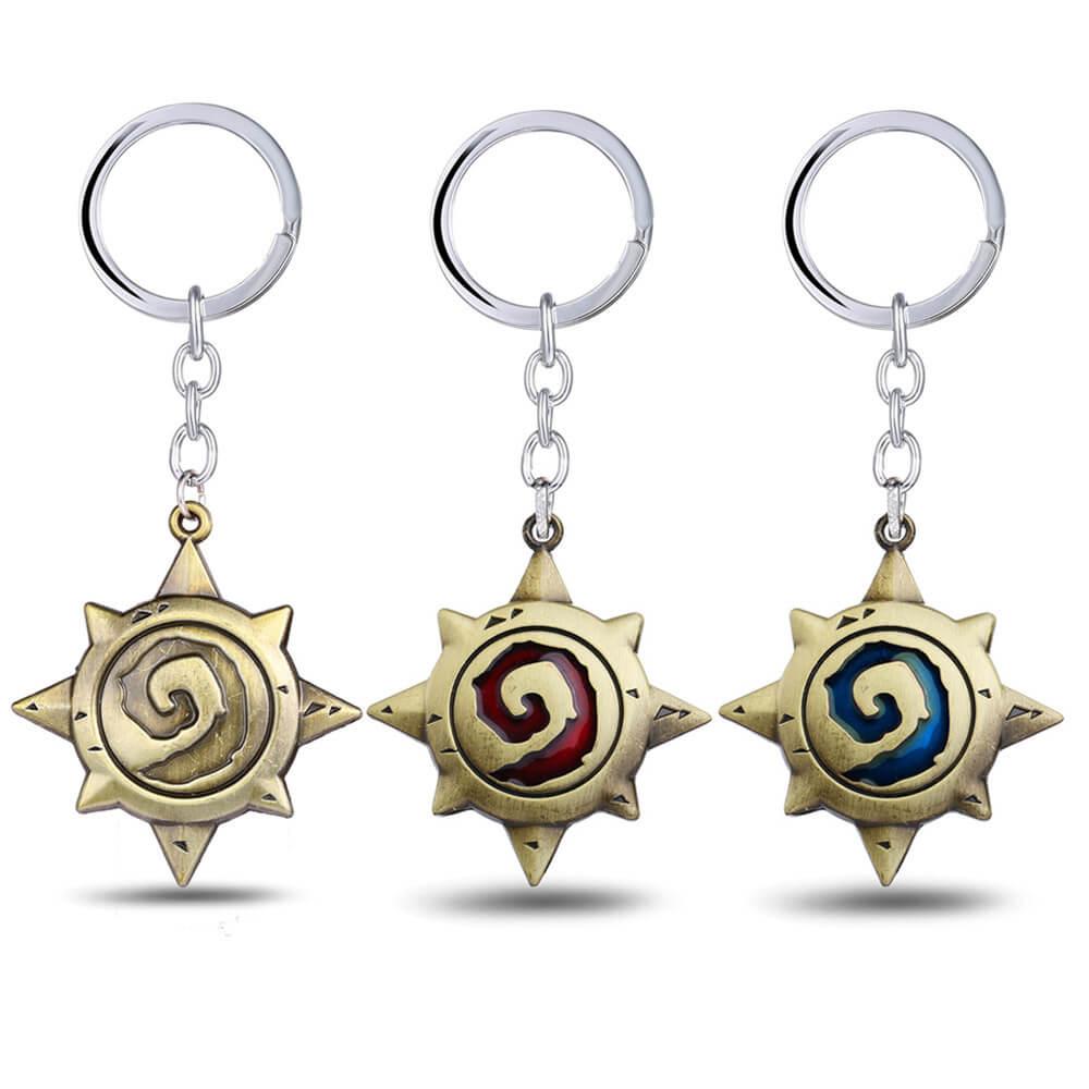 Quality Hearthstone Logo Key Chain Holder