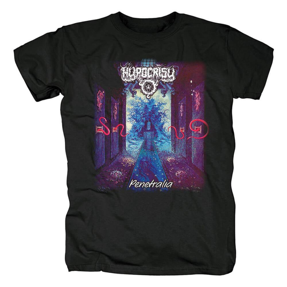Quality Hypocrisy Tshirts Sweden Black Metal Punk Rock Band T-Shirt
