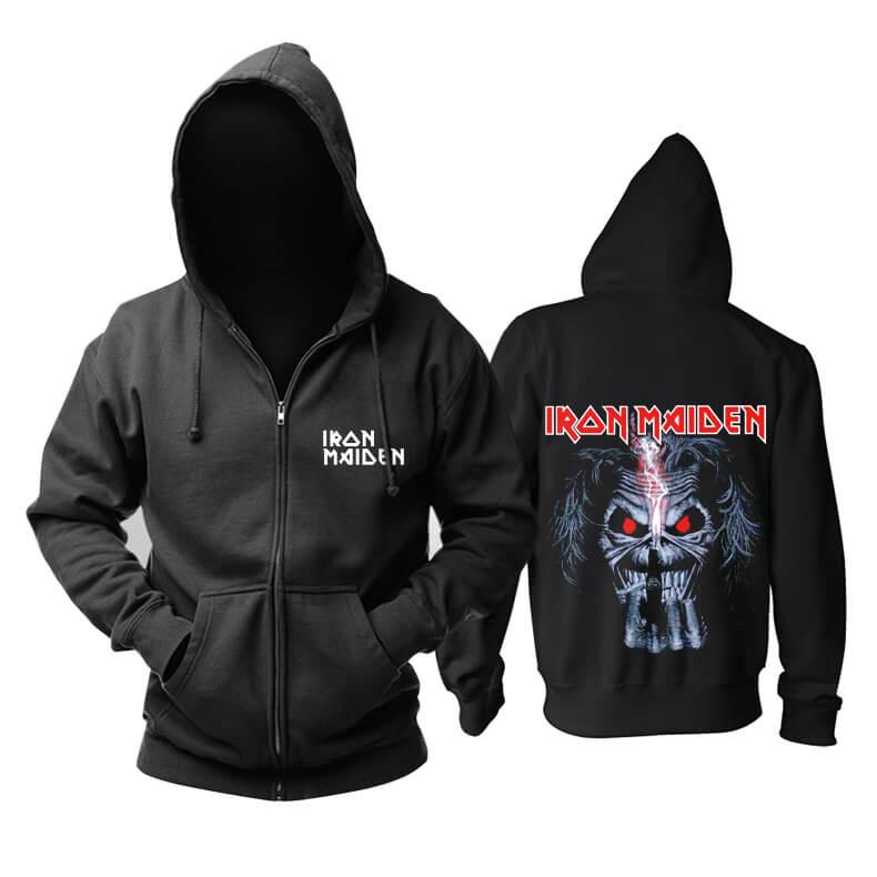 Quality Iron Maiden Hooded Sweatshirts Uk Hard Rock Metal Rock Band Hoodie
