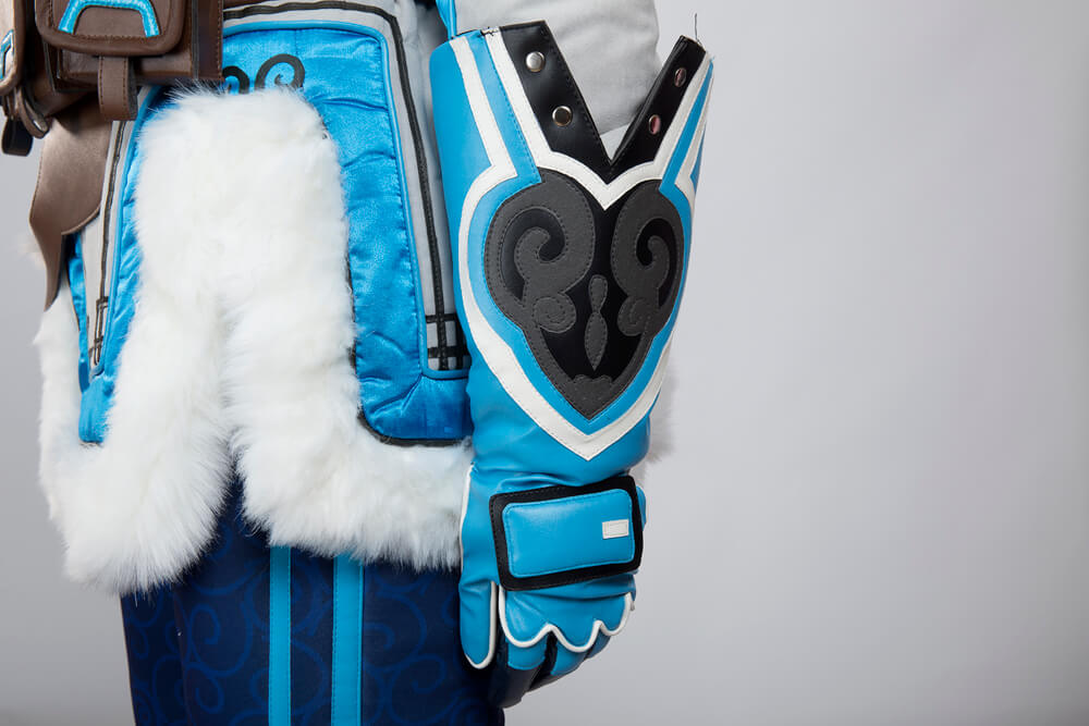 Quality Overwatch Mei Cosplay Costume