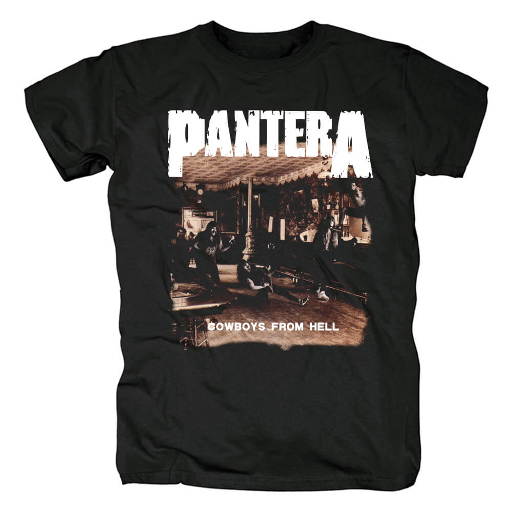 Quality Pantera Cowboys From Hell T-Shirt Us Metal Shirts