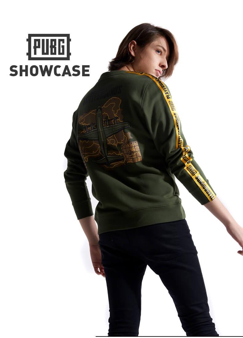 e1fc8c63c68f1a Quality Playerunknown'S Battlegrounds Map Hoodie Pubg Couple Army Green  Sweatshirt