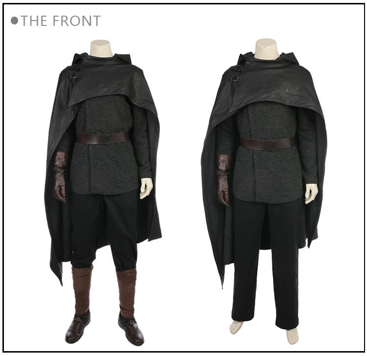 Quality Star Wars The Last Jedi Cosplay Custome Luke Skywalker Cosplay