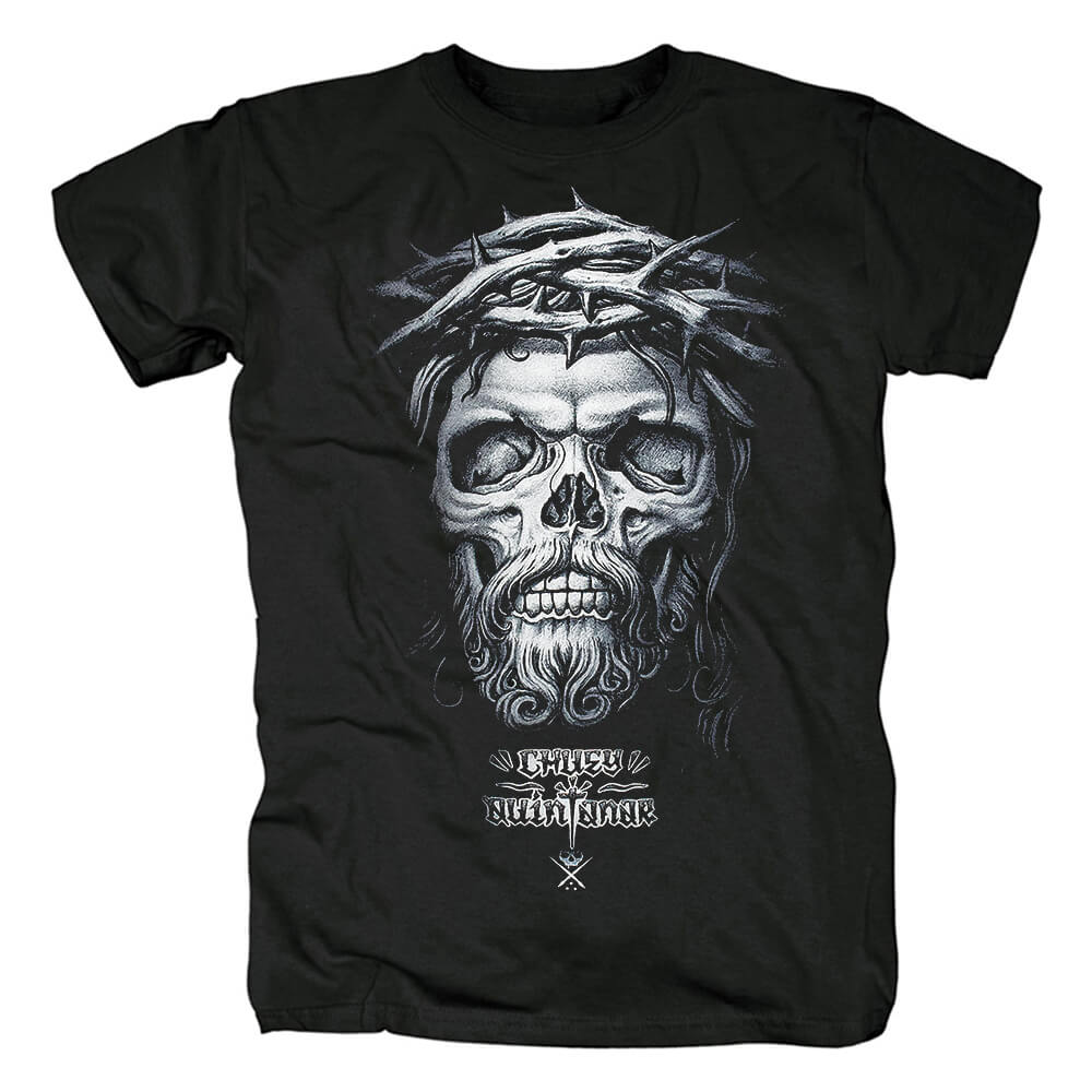 Quality Sullen Art T-Shirt Hard Rock Skull Graphic Tees
