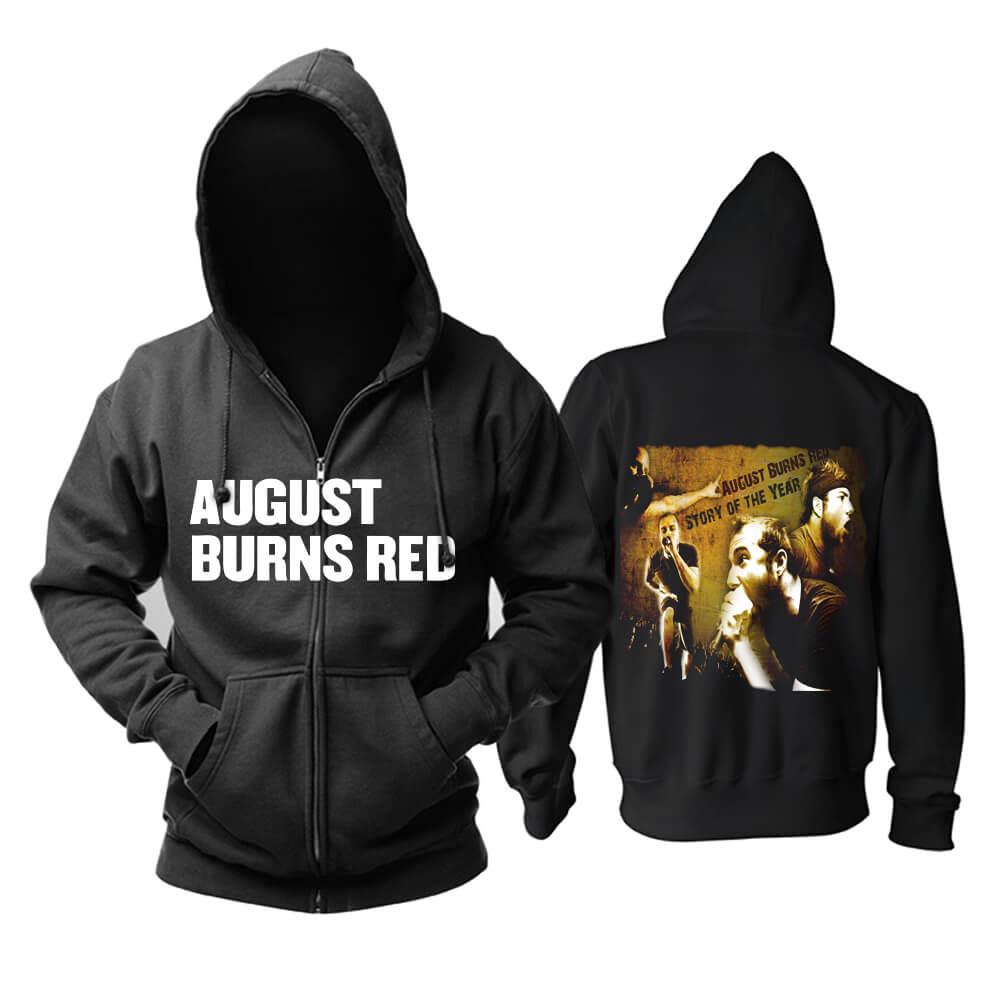 Quality Ugust Burns Red Hoody Metal Punk Rock Band Hoodie
