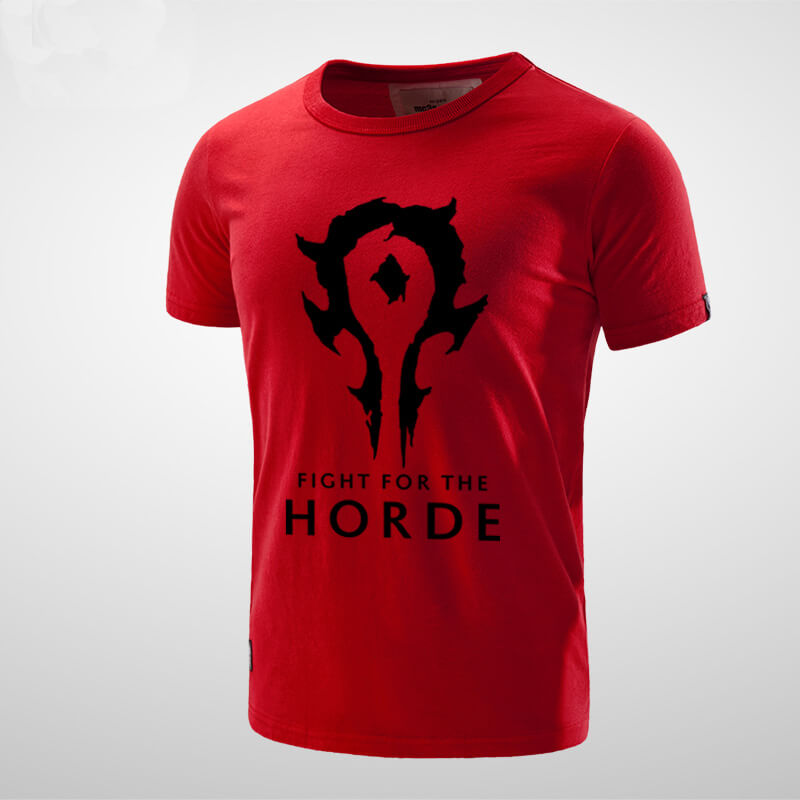 Quality World of Warcraft For the Horde T-shirt