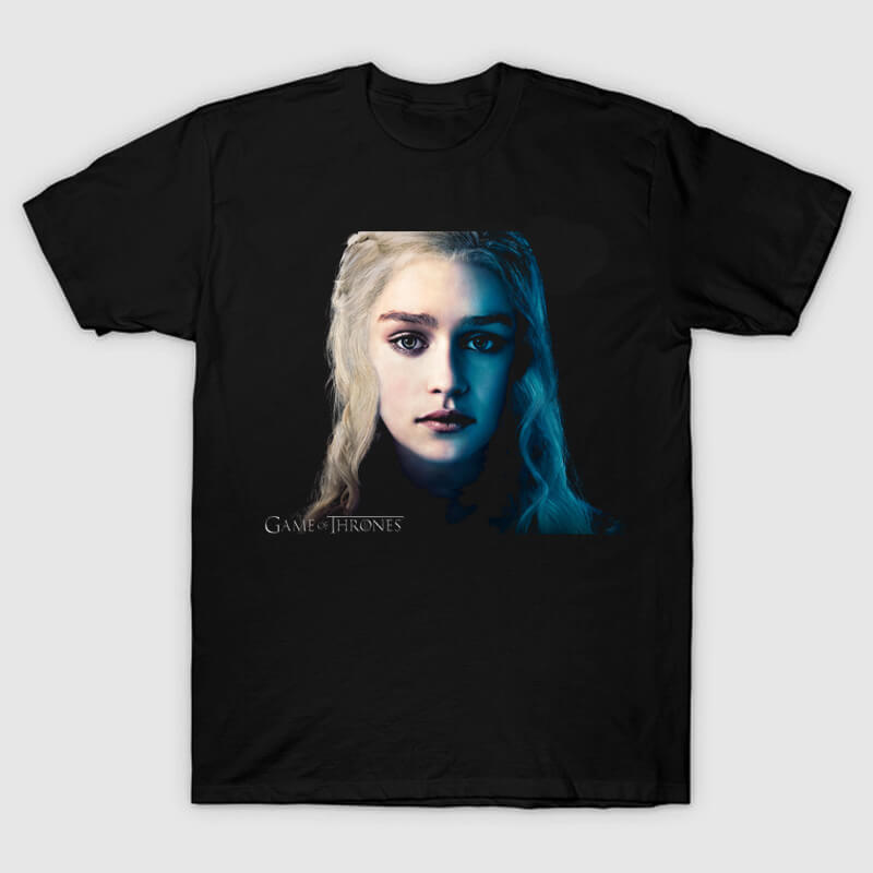 Queen Daenerys T-shirt Game of Thrones Tee