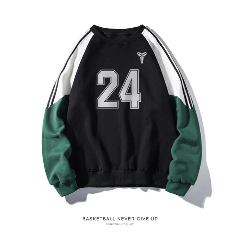 Quality Lakers Kobe Bryant Sweatshirt NBA NO.24 Manba Sweater