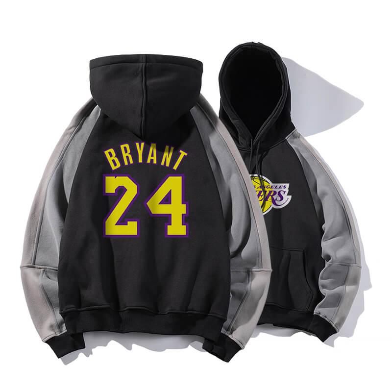 NBA Kobe Bryant Hoodie Black Mamba Hooded Sweatshirt