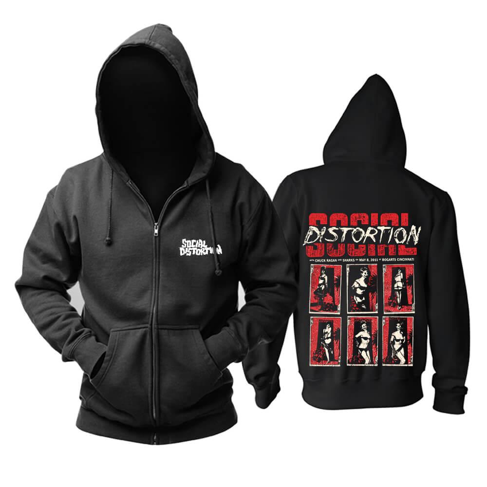 Social Distortion Hoody California Metal Punk Rock Band Hoodie